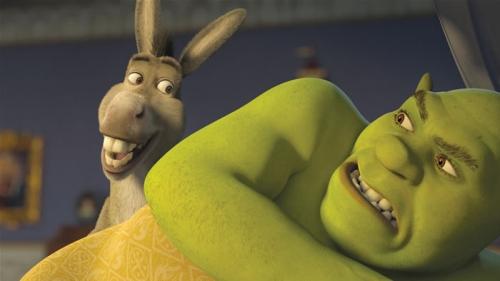 donkey andshrek